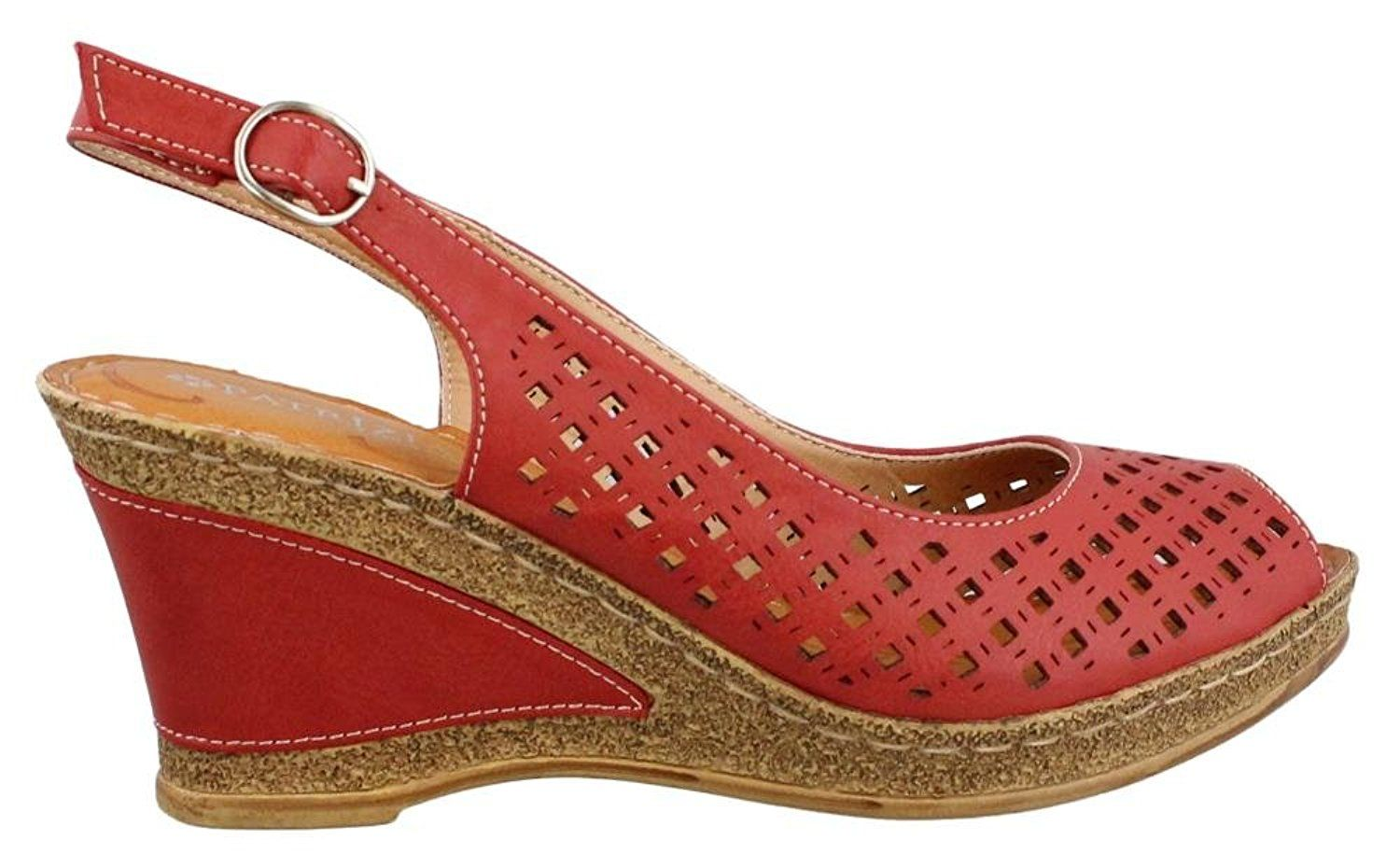 31eb409efc8 Patrizia Women's Candace Wedge Sandals *** Additional details at the ...