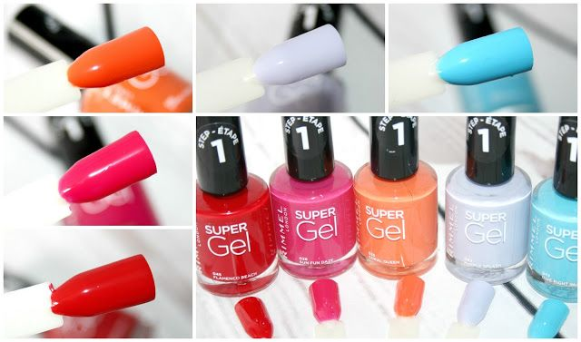 Rimmel London New Super Gel Beach Ready Collection Pinterest