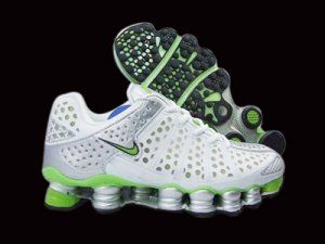 c2f5c73edaf Nike Shox TL3 Men White Green Shoes