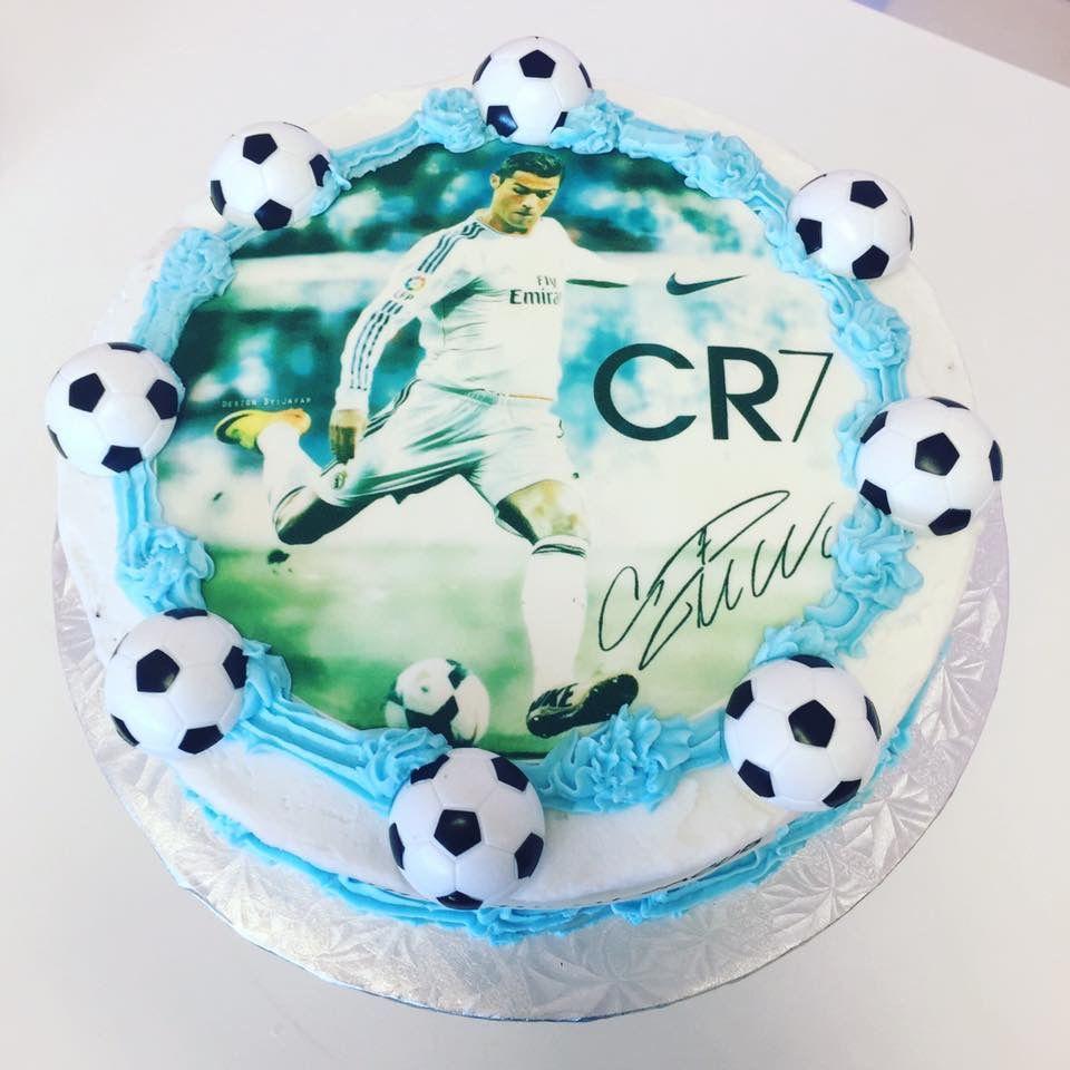 Cristiano Ronaldo #CR7 Edible Imaged Cake | Cake | Pinterest | Cake ...