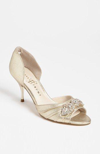 Ivanka Trump Nanci Sandal Online Only Available At Nordstrom 150 3 Inch Heel Comes In Sliver