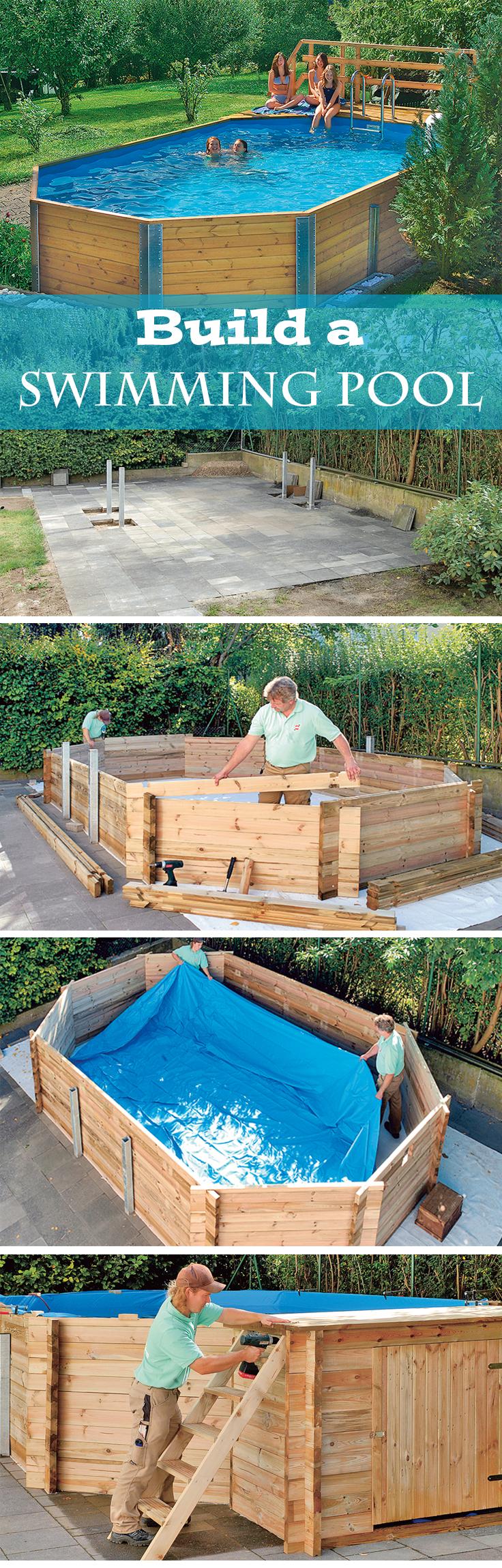 bausatz pool g rten schwimmb der und schwimmbecken. Black Bedroom Furniture Sets. Home Design Ideas