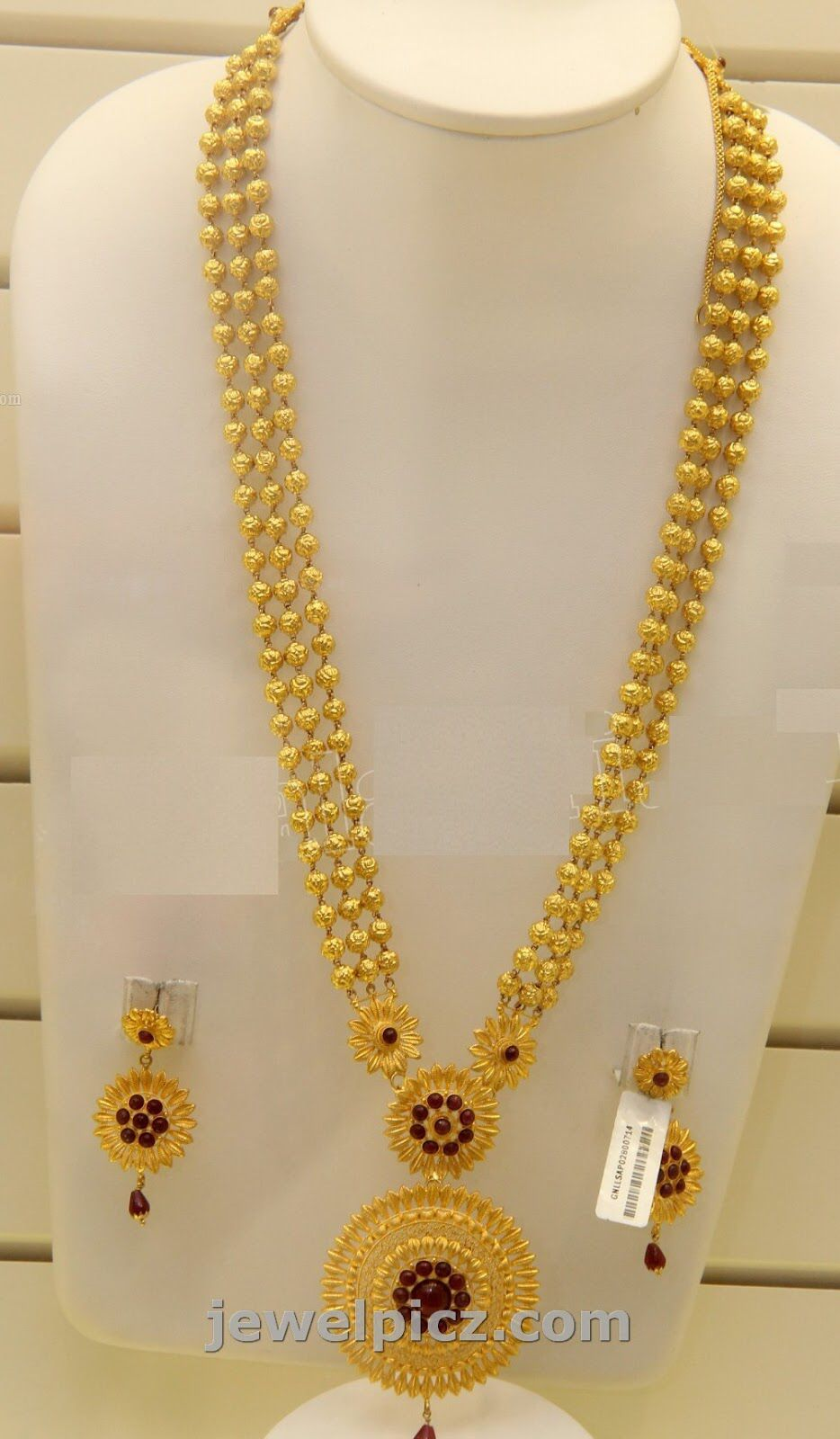 Image From Http Diamantbilds Com Wp Content Uploads 2015 05 Gold Earrings Design Gold Necklace Indian Bridal Jewelry Gold Necklace Designs Gold Long Necklace