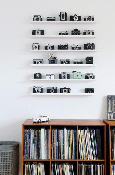 Dekorieren mit Schallplatten - 60 Fotos, Inspirationen und Ideen - Neu dekoration stile #retroideas