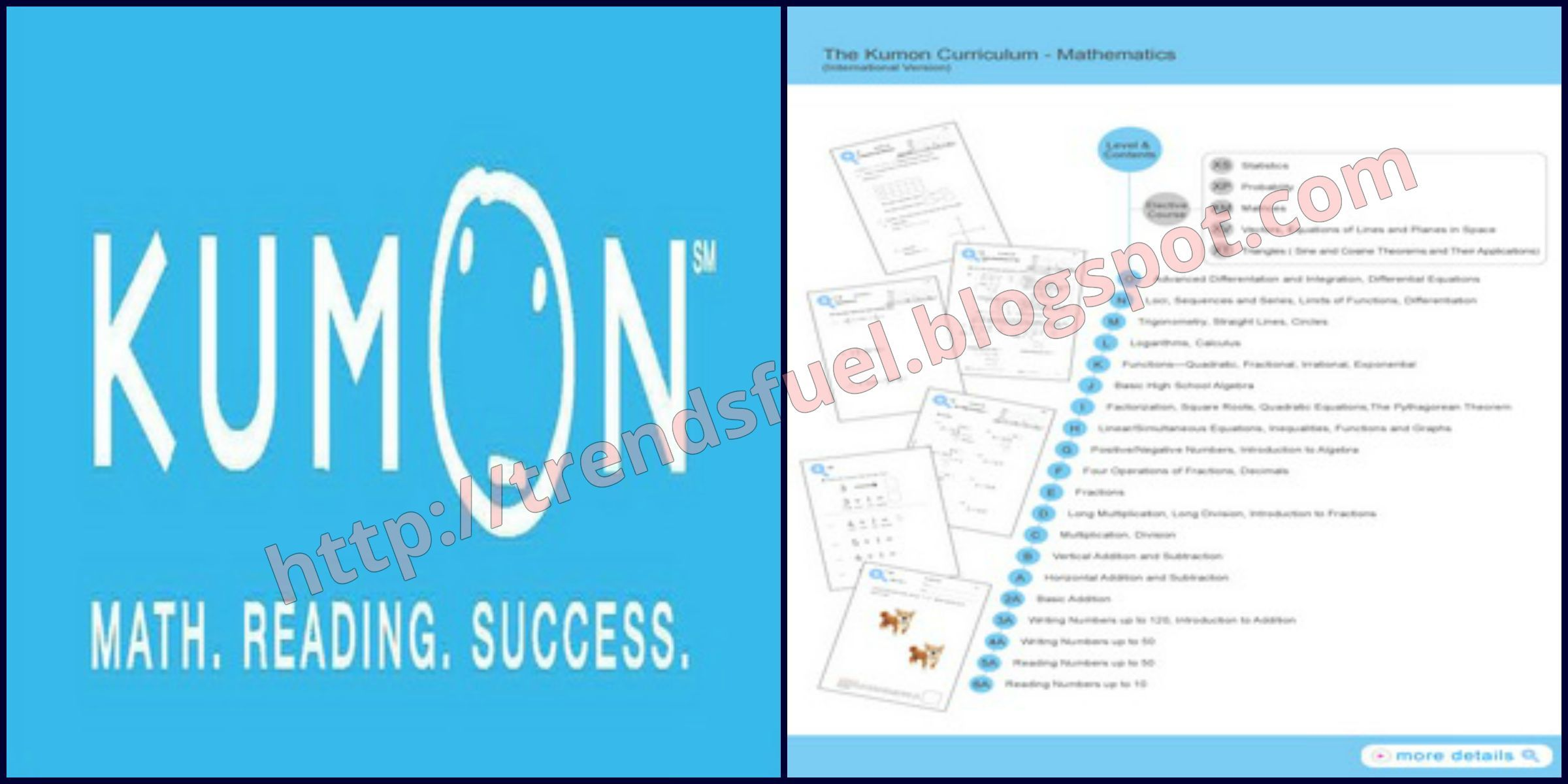 Over Here You Can See And Read About Kumon Worksheets About ...