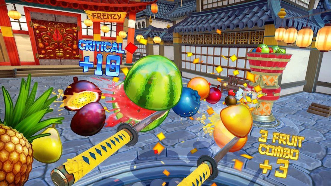 Análisis de Fruit Ninja VR locura frutal en Rift, Vive y