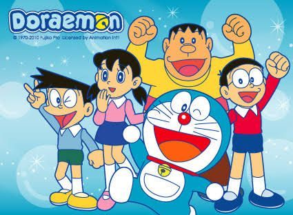Gambar Kartun Doraemon Dan Nobita  Gambar Kartun