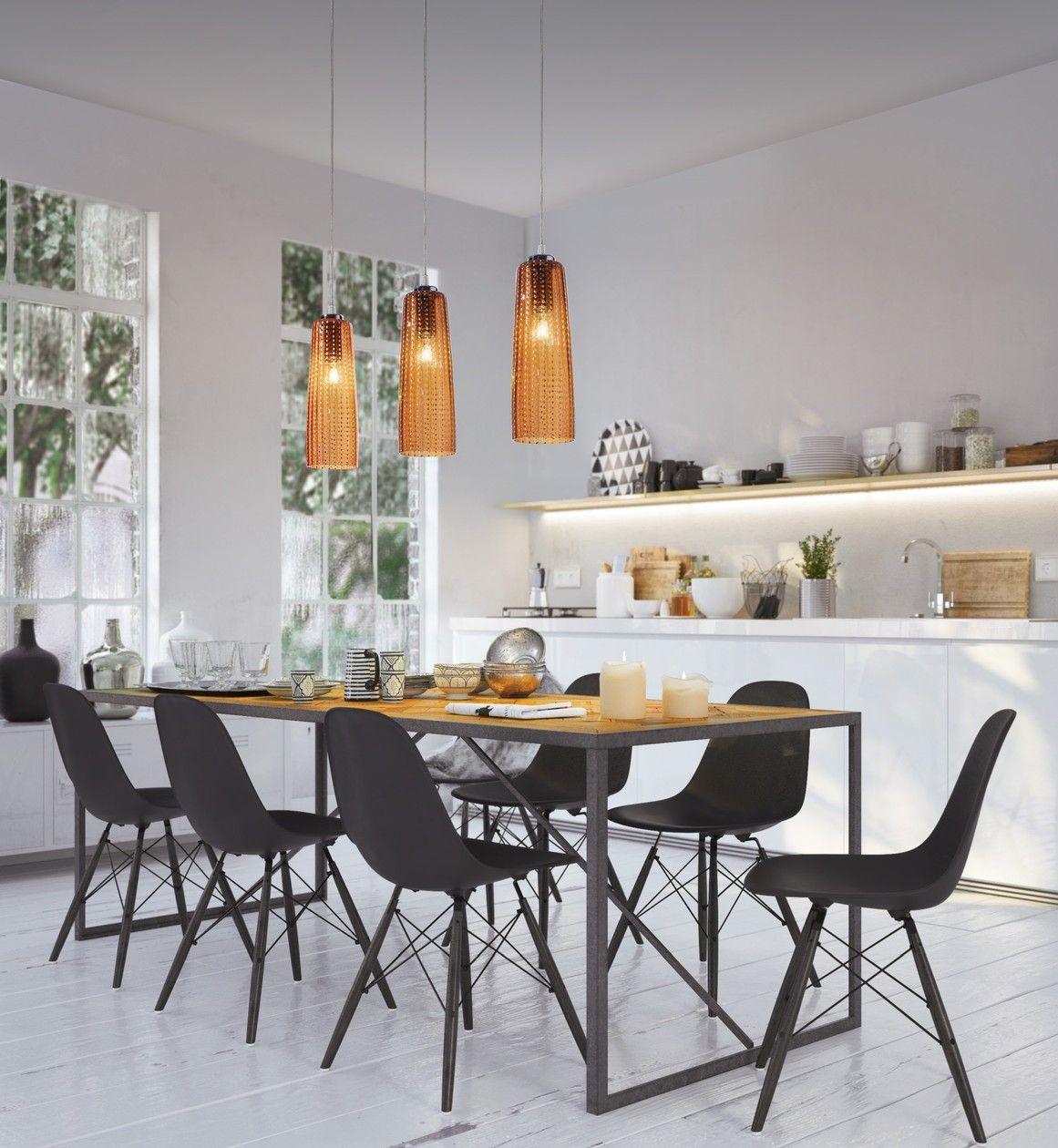 Perle Pendant Lamp Perle Collection By Zafferano Design Federico De Majo Glass Pendant Lamp Pendant Lamp Beautiful Kitchens