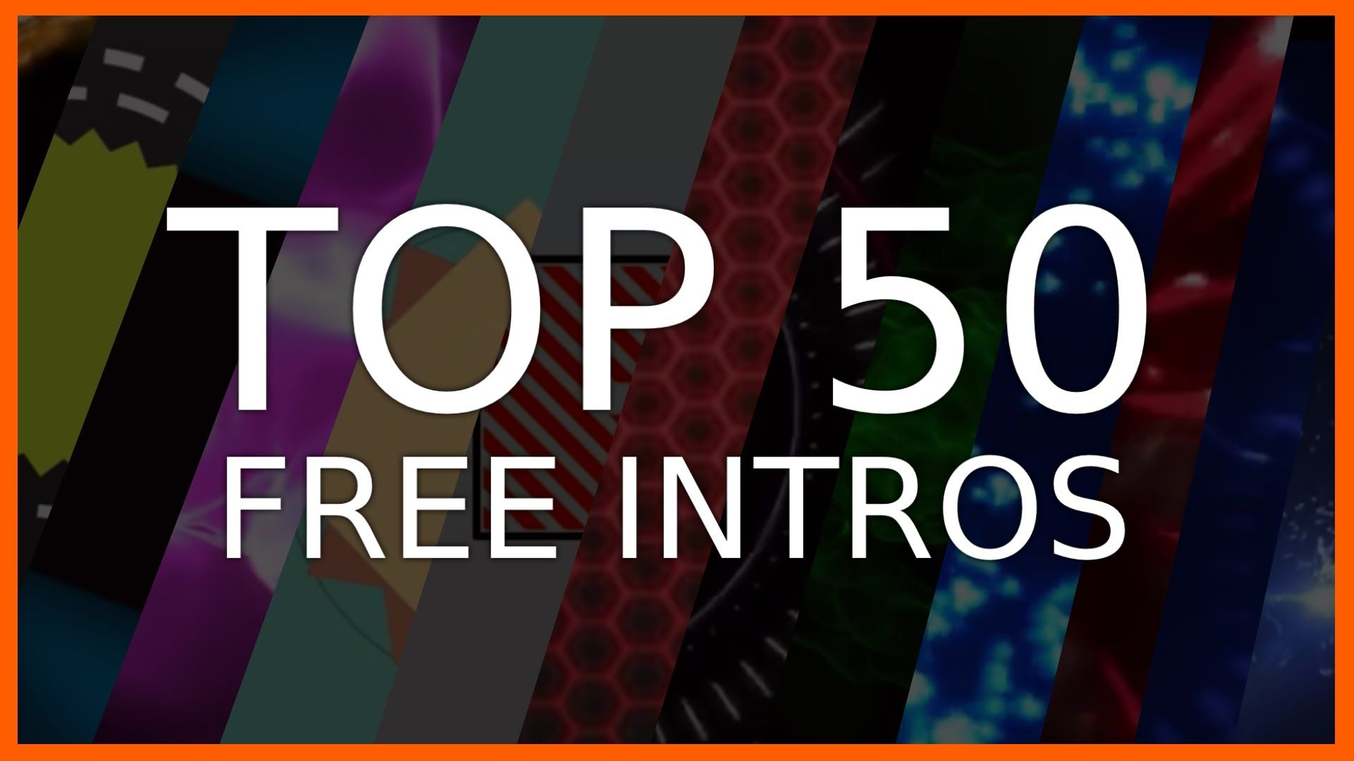 BEST) TOP 50 - FREE INTRO TEMPLATES | NO TEXT | Shockwave/2D ...