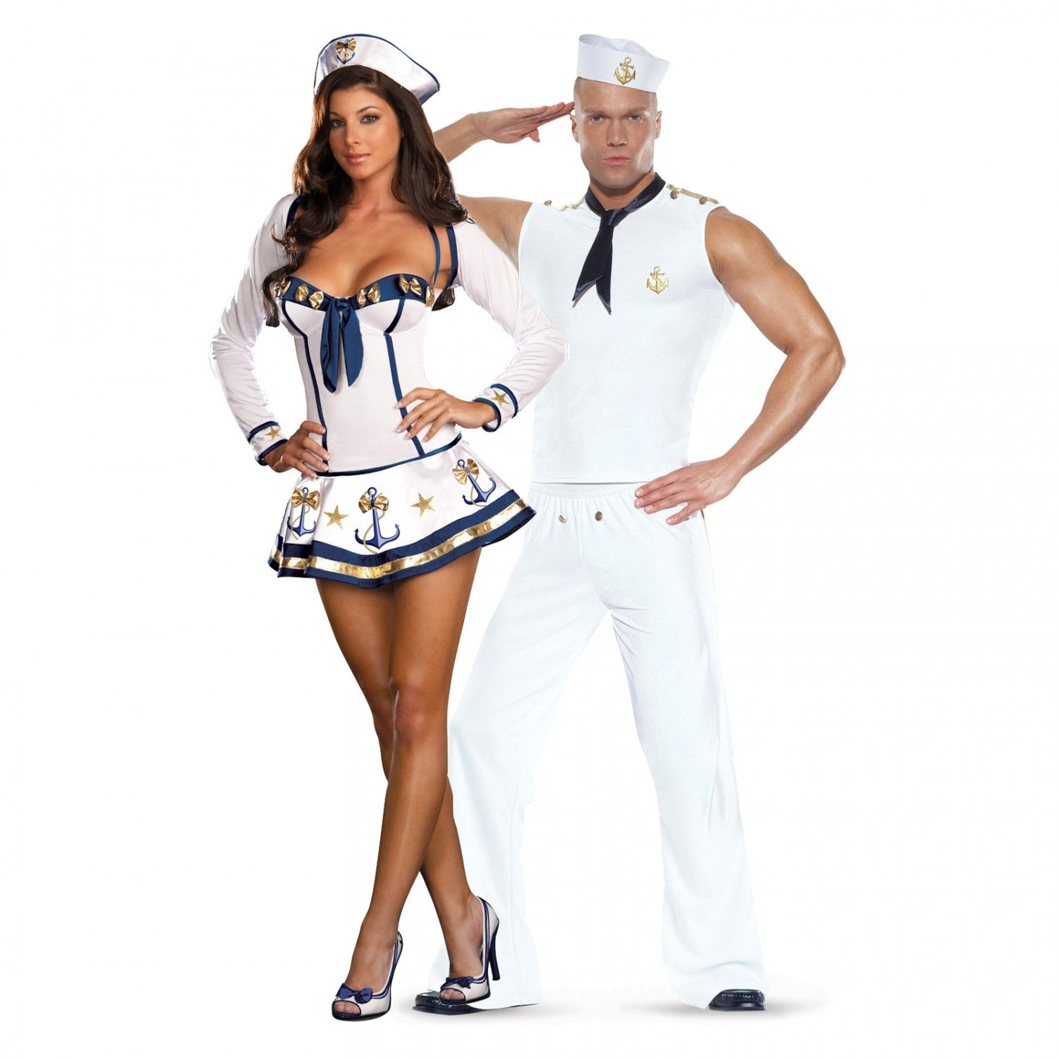 sailor and makin waves sailor sexy couples costume halloween costumes 2013 - Sailors Halloween Costumes