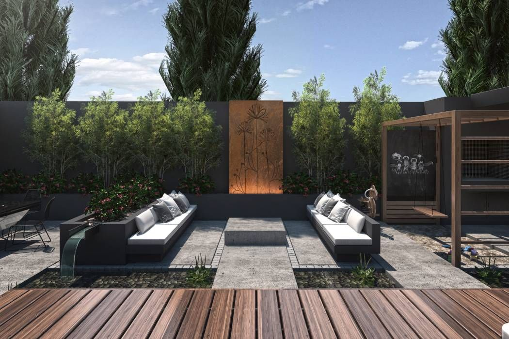 Espacio Lounge Balcones Y Terrazas Modernos Ideas Imagenes Y Decoracion De Tdc Oficina De Arquitectura Moderno Oficina De Arquitectura Arquitectura Y Arquitectura Moderna