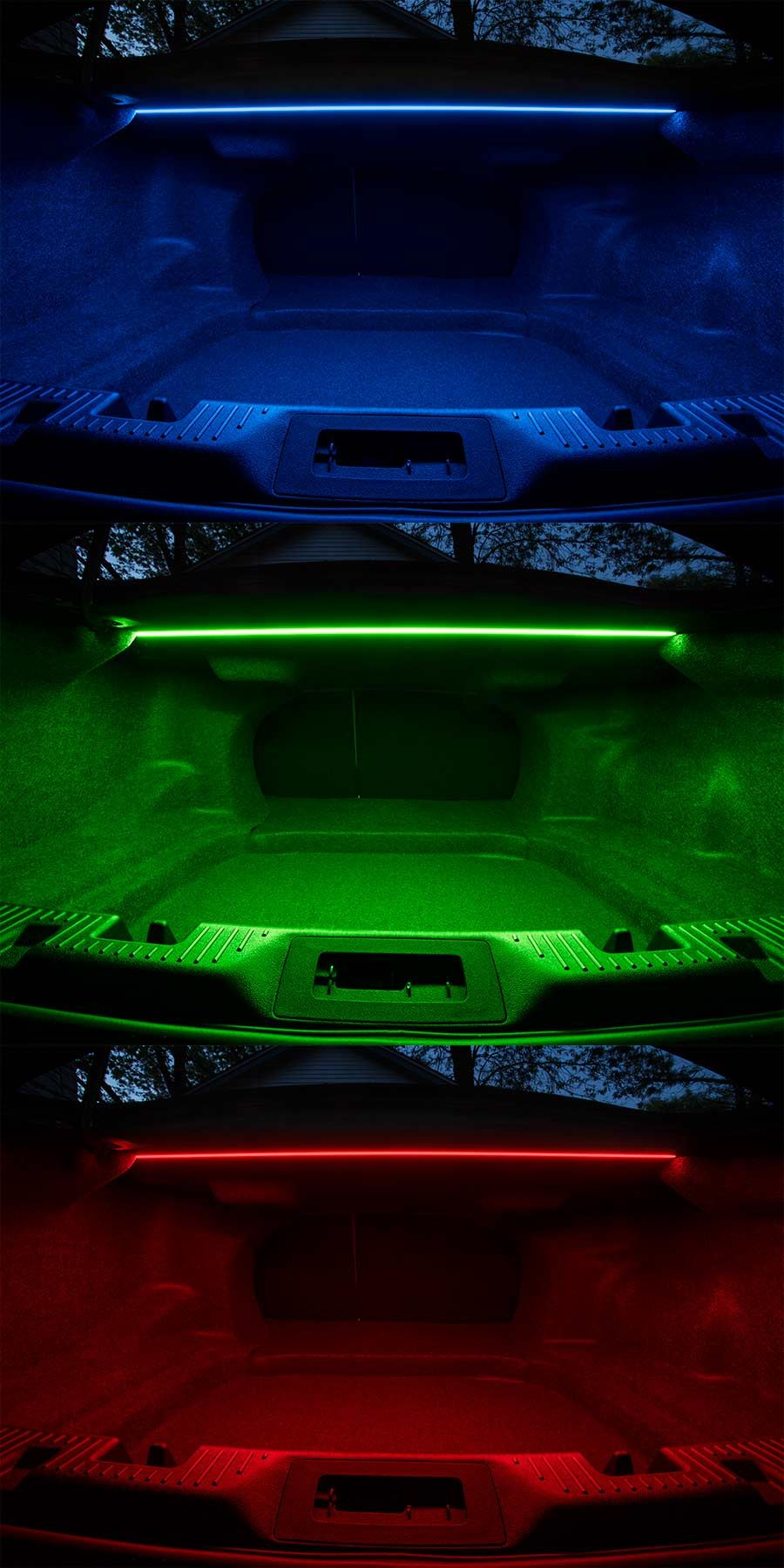 Car Interior Led Accent Lighting Super Bright Leds Red