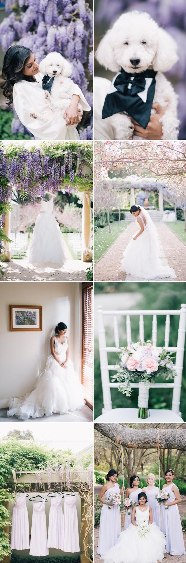 Romantic Lilac Australia Secret Garden Wedding (from Ben Yew ...