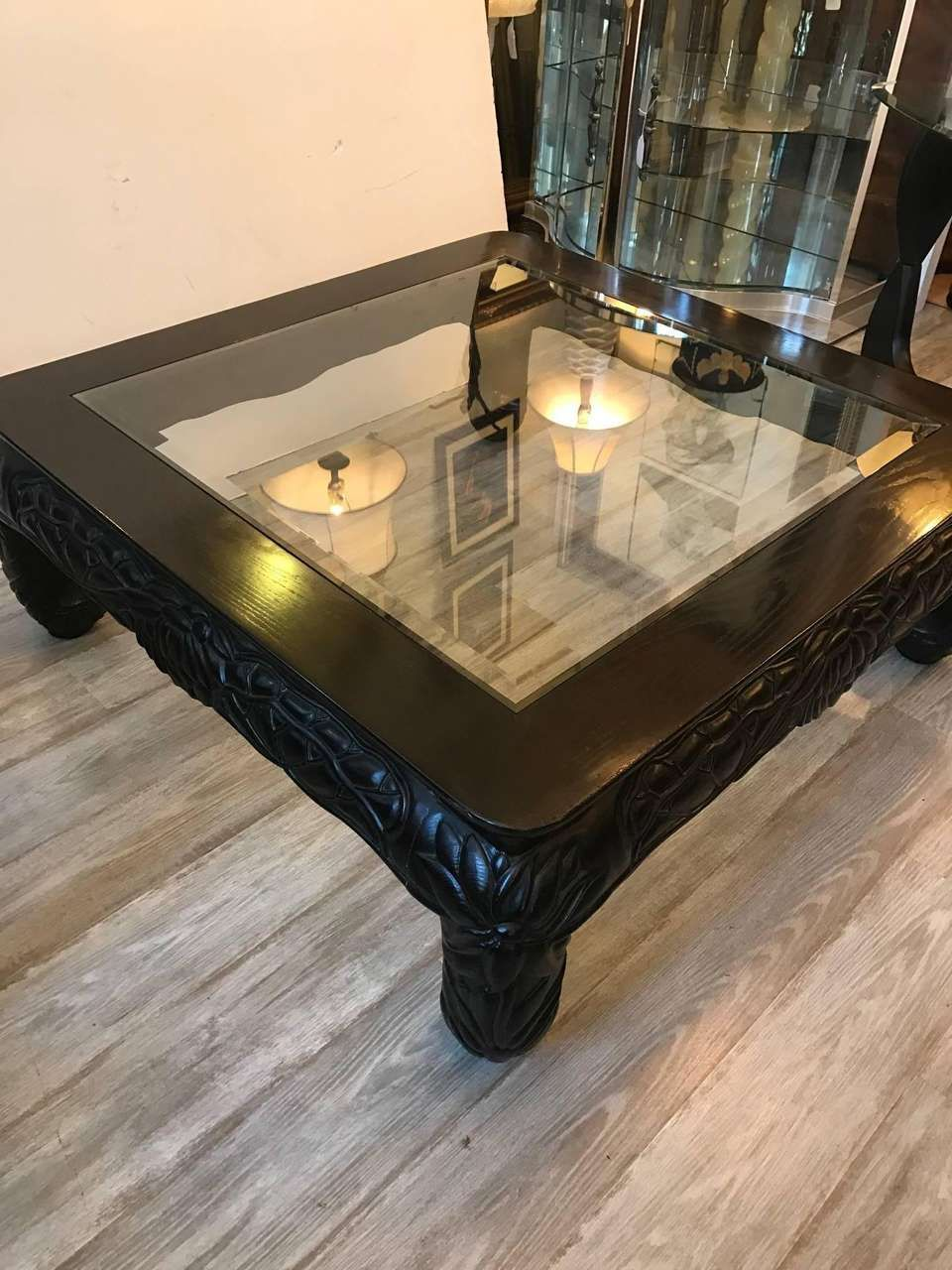 Large Square Asian Style Hand Carved Coffee Table Coffee Table Square Coffee Table Mahogany Dining Table [ 1280 x 960 Pixel ]