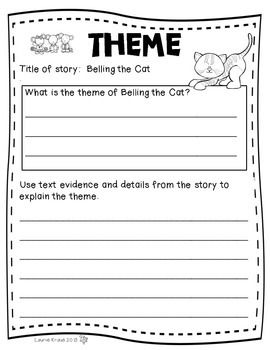 Teaching Theme with Fables - Belling the Cat | My TpT