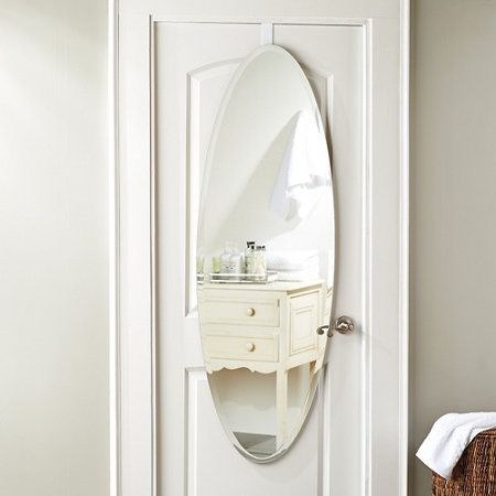 Bainbridge Over The Door Mirror Over The Door Mirror Mirror Door Mirror Wall Bathroom