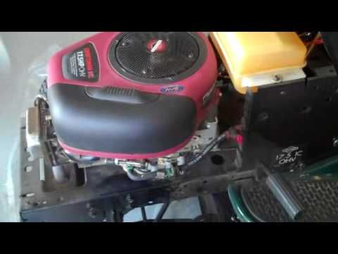 BRIGGS AND STRATTON LAWN MOWER ENGINE REPAIR : HOW TO DIAGNOSE AND
