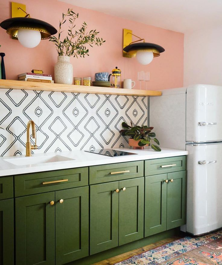 This Lovely Kitchen Made Me Happy Today, What Do You Think