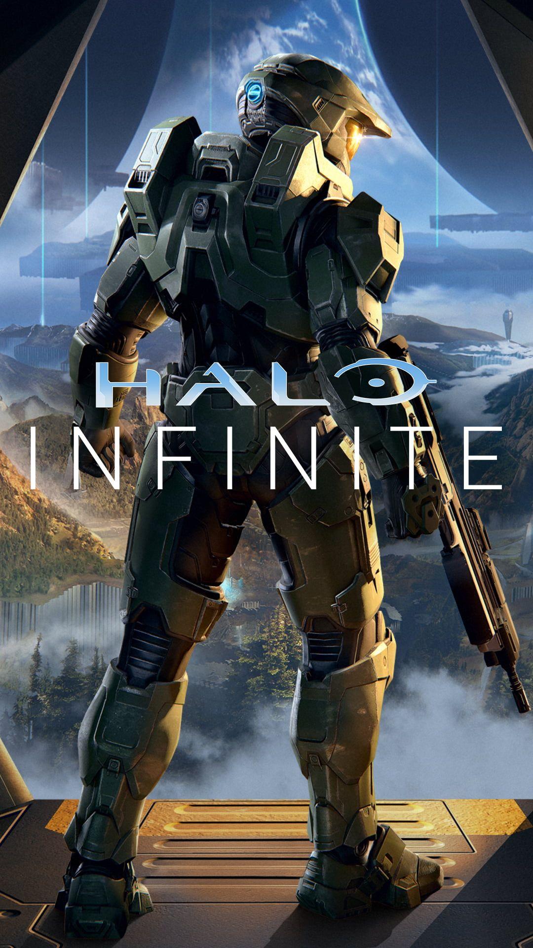 Halo Infinite Master Chief 1080p Wallpaper Hdwallpaper Desktop In 2021 Cortana Halo Halo Halo Master Chief