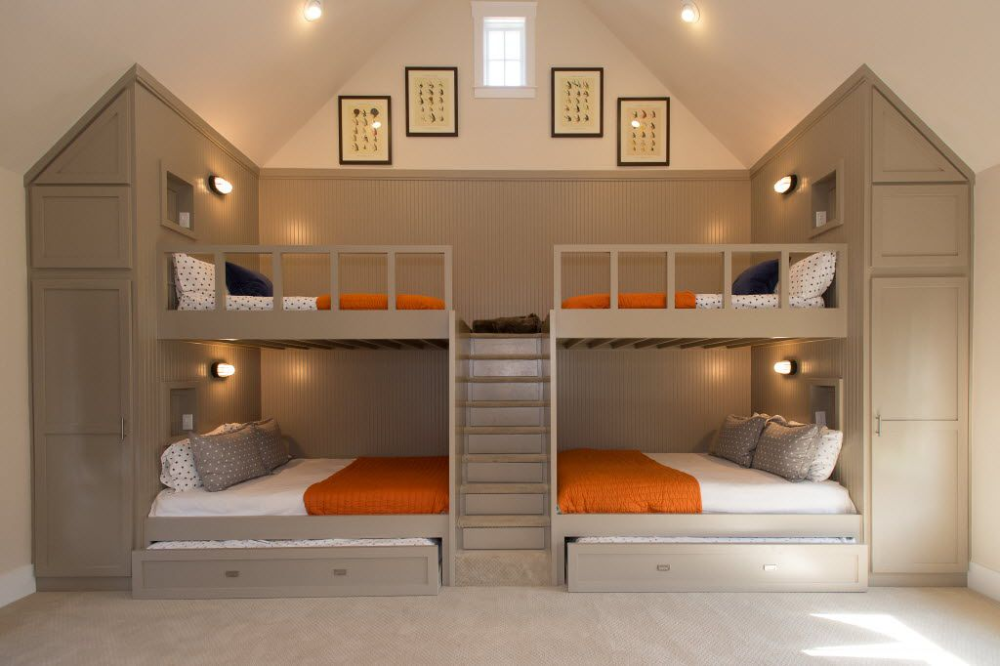 Bunk Beds Are Making A Big Comeback And Not Just With Kids Cool Bunk Beds Loft Bunk Beds Bunk Beds Built In