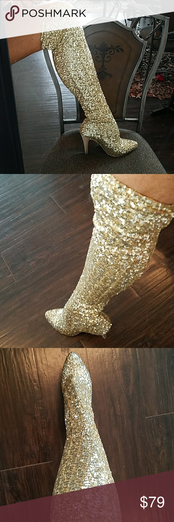 292018120bc 💛LIMITED EDITION STEVE MADDEN SEQUIN BOOTS!! 💛BRAND NEW!!!! TINY ...