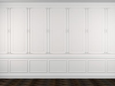 Wainscoting Picture Frame Molding Image collections - origami ...