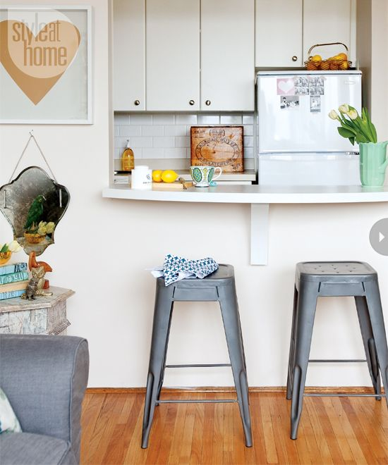 Studio Apartment Kitchen Remodel: Small Space: Vancouver Studio Apartment