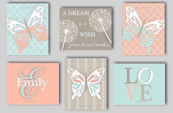 Diese einzigartige Schmetterlingsdruckkollektion umfasst
