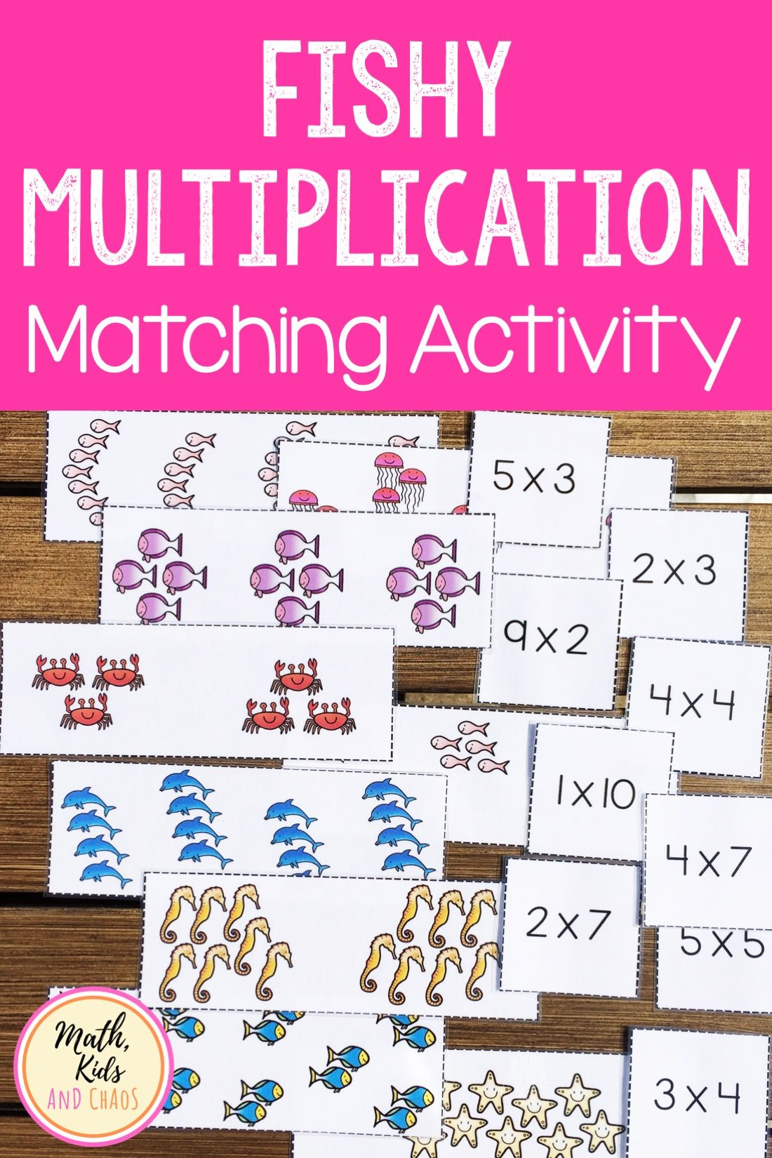Equal Groups Multiplication