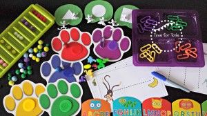 Toddler Activities Pack from Time for Tots