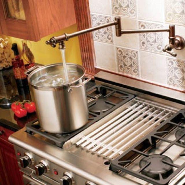 Water Spout Over Stove Moen Kitchen Faucet Kitchen Faucet Pot