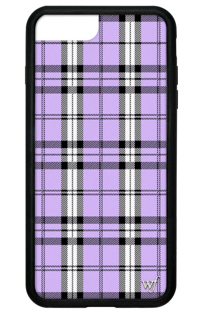 Lavender Plaid Iphone 6 7 8 Plus Case Pink Phone Cases Apple