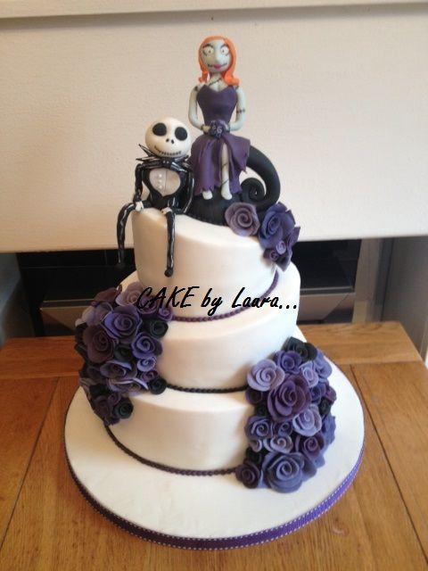 Nightmare before christmas wedding cake Cakes Pinterest