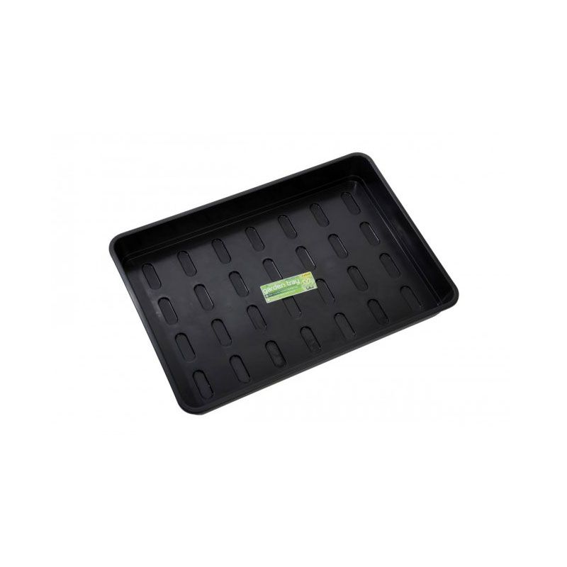 Xl Garden Tray Black Without Holes Trays Flats 23 16 3