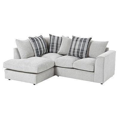 Wrayton Scatterback Lh Corner Chaise Grey Corner Sofa Small Corner Sofa Corner Sofa Design