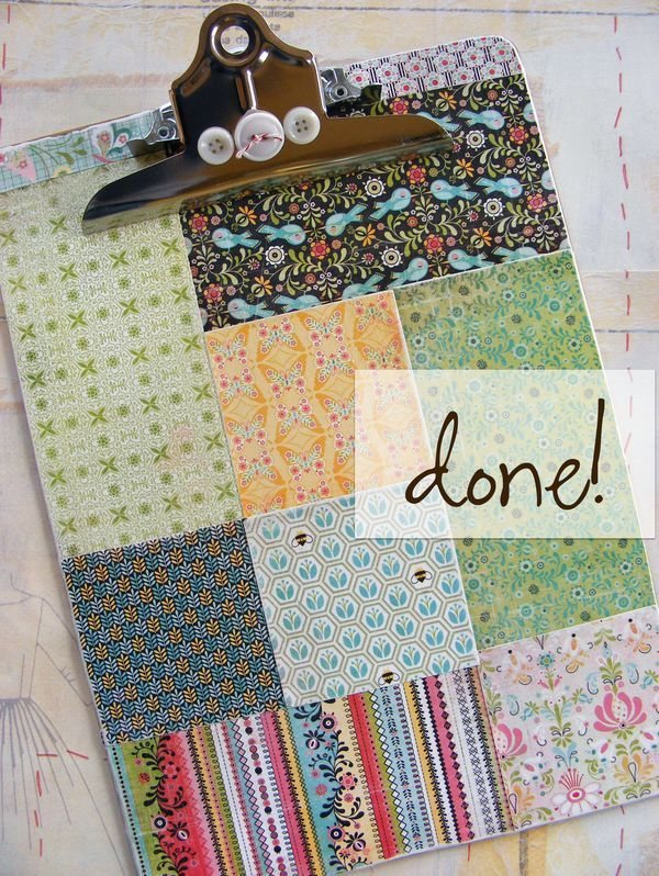 Patchwork clipboards are really easy to make. Of course, they can be made in many different ways but this is my method...they are pretty, simple, totally usable....and very gift-able. I hope seeing a few steps sparks some ideas that you'd...