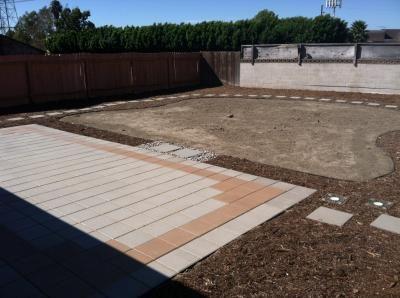 Gray Concrete Square Patio Stone Common 12 In X Actual At Lowes