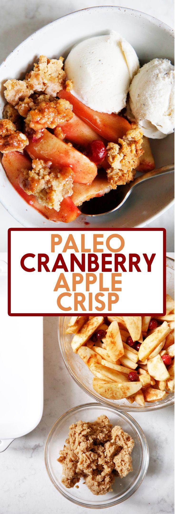 Cranberry Apple Crisp Recipe Apple Crisp Food Recipes Apple