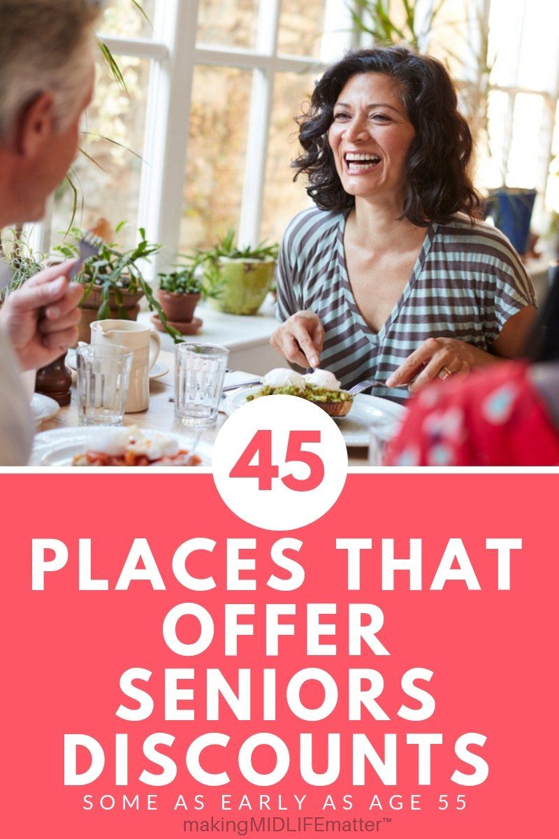 45 Places That Offer Senior Discounts In The U S Senior