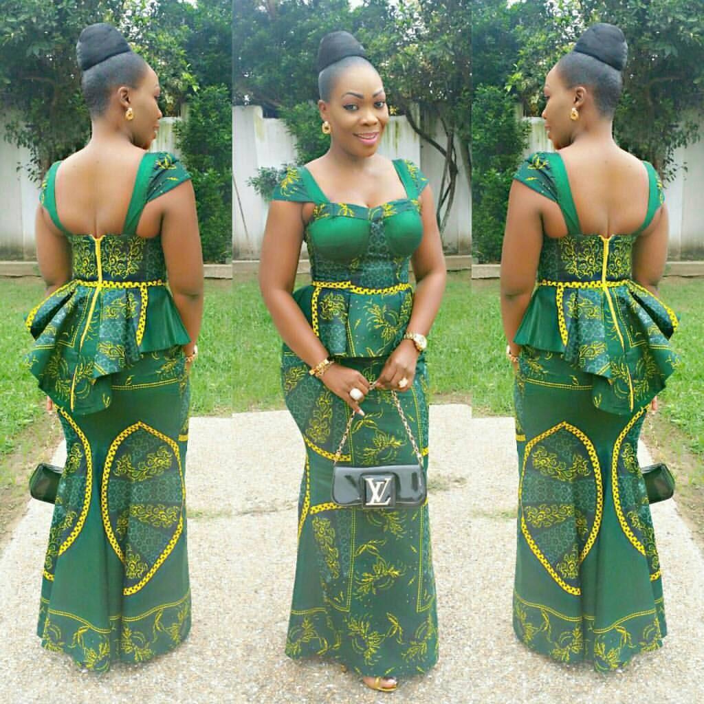 We Wish U An Evergreen Week From Dbn African Fashion African Print Fashion Dresses African Traditional Dresses