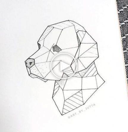 Trendy Tattoo Dog Geometric Beasts 34 Ideas Tattoo Dibujos De Figuras Geometricas Animales Geometricos Periodo Geometrico