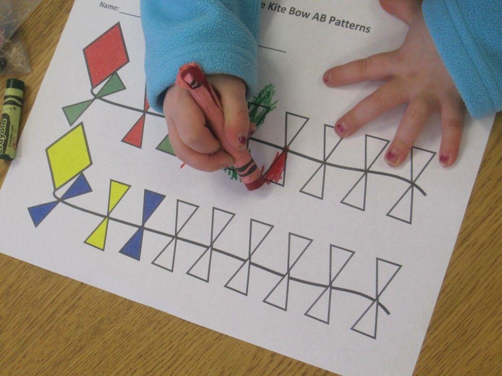 Making Ab Patterns In Preschool