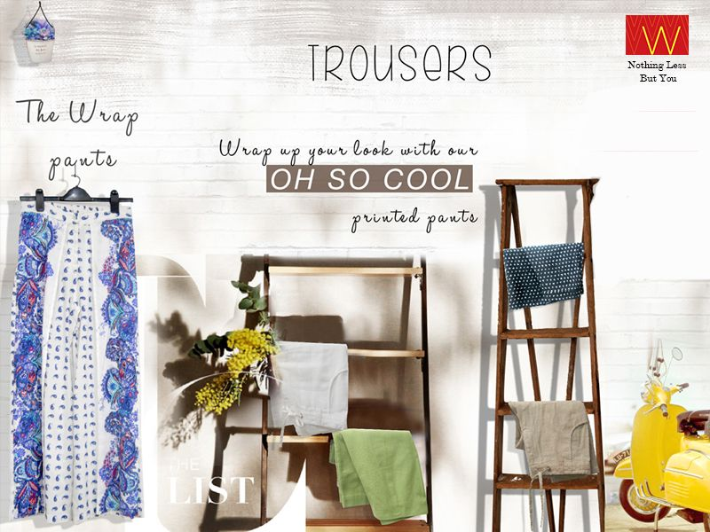 Oh sooo cool for your legs is here http://www.wforwoman.com/products/ss15-latest-collection/summer15-bottomwear/