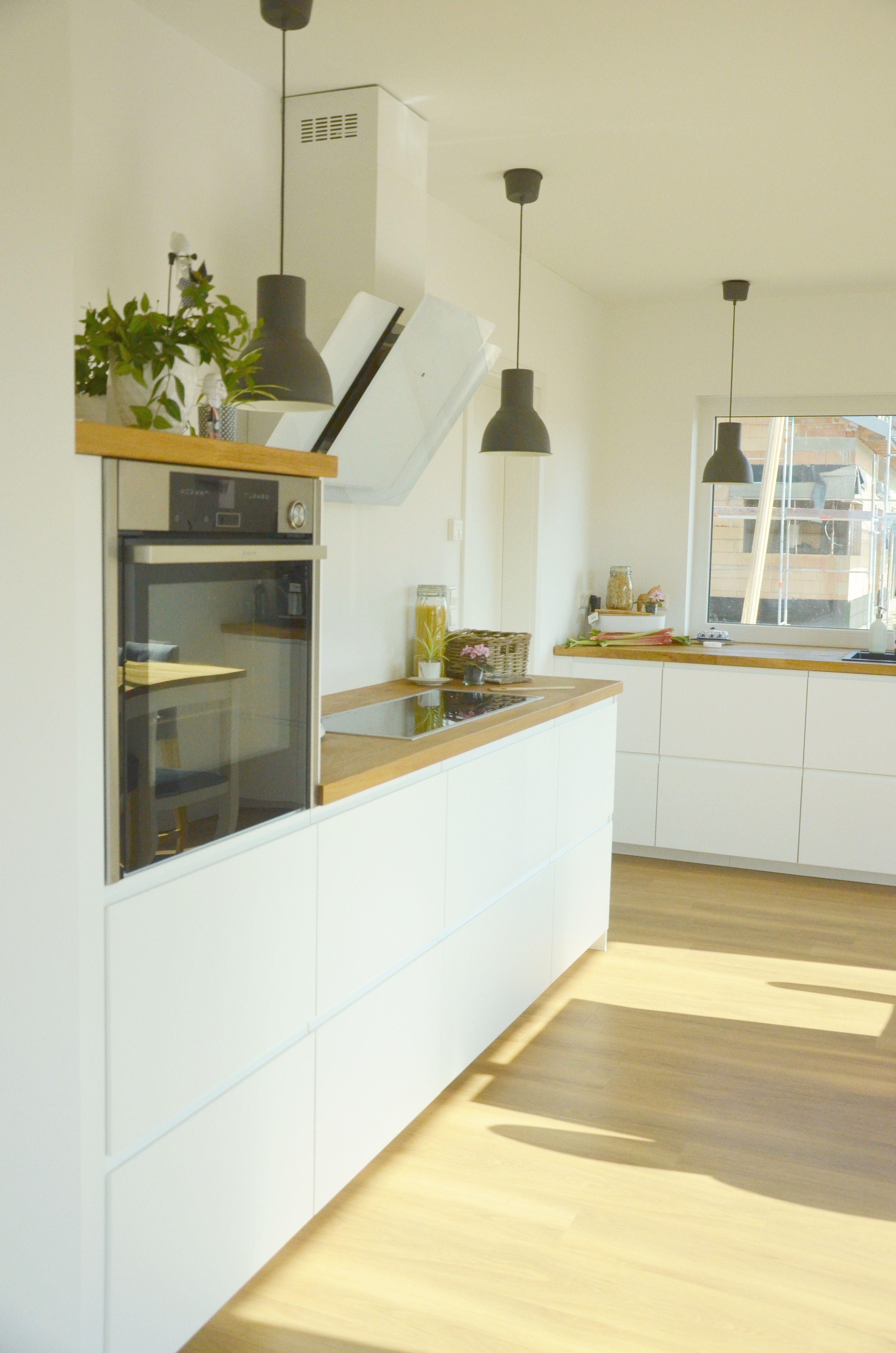 einfache schicke k che interieur pinterest schick k che und wohnen. Black Bedroom Furniture Sets. Home Design Ideas