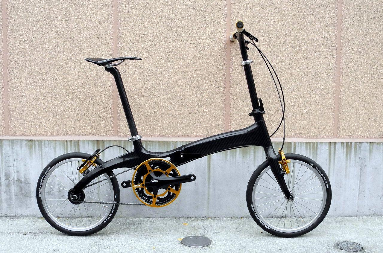 BOMA carbon fiber folding bike. 7.2kg Bike, Bicycle diy