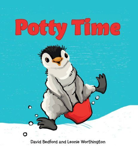 Potty Time (Lift-the-Flap Book) by David Bedford