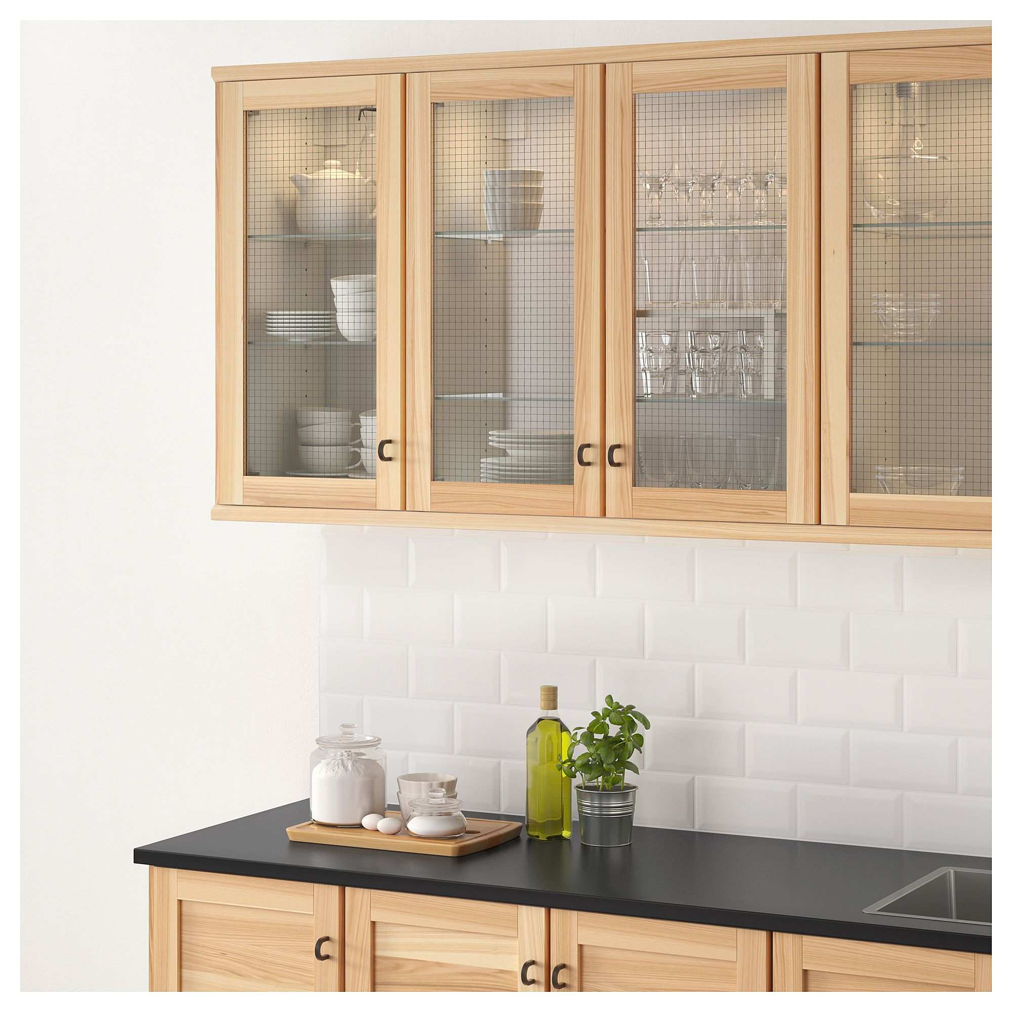 Best Ikea Torhamn Glass Door Natural Ash Kitchen Remodel 400 x 300