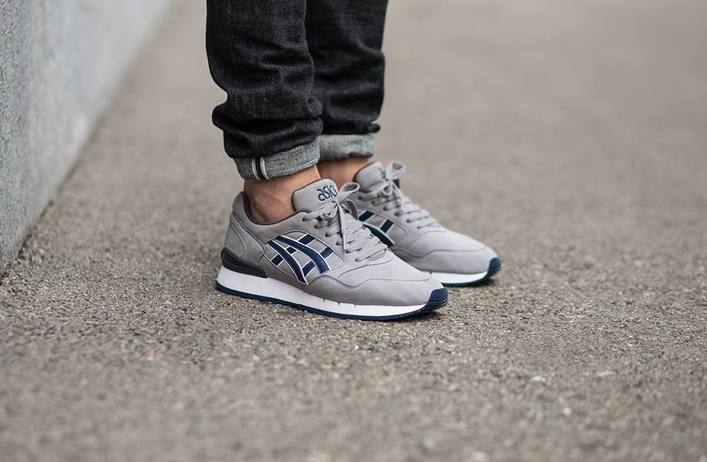ASICS GEL ATLANTIS GREY NAVY | sneakers