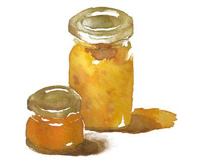 "朋友送的手做果醬,鳳梨及芒果口味,非常好吃! Check out new work on my @Behance portfolio: ""Food"" http://on.be.net/1I1o9xi"
