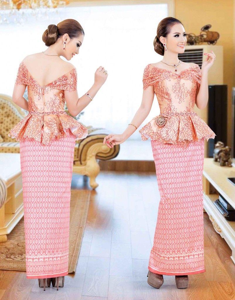 Khmer traditional dress dressing in pinterest dresses